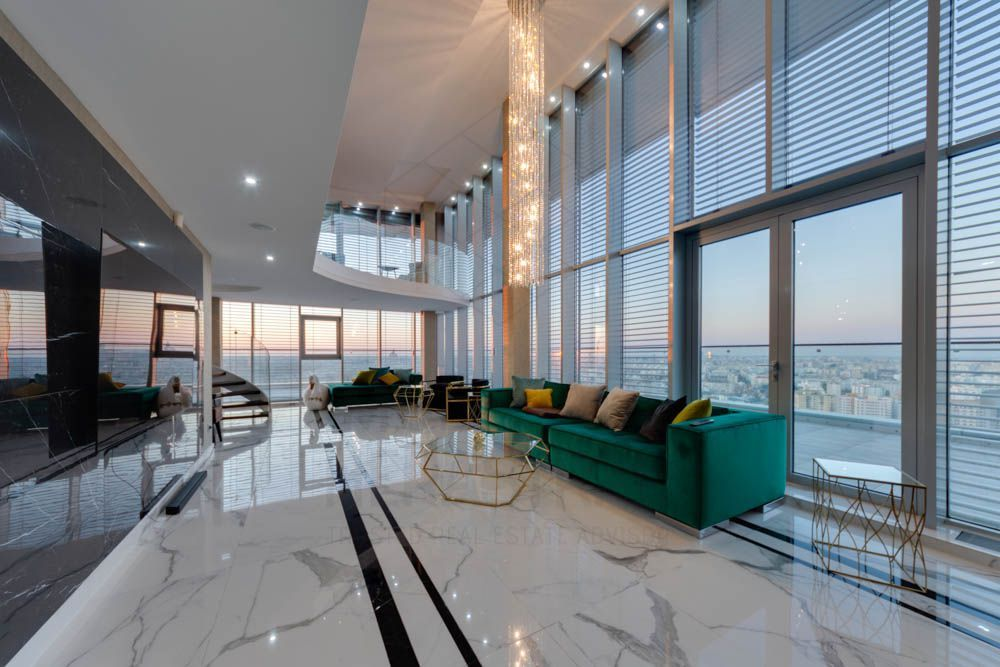Infinity The Penthouse-Amazing view of the city from the tallest building in RO